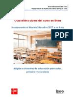Guía instruccional curso Implementando el Modelo Educativo 2017 en mi aula