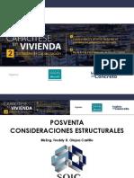 Presentacion Posventa Consideraciones Estructurales