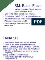 THEO1 Judaism Report