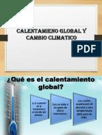 Cambio Climatico y Calentamiento Global