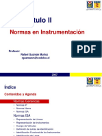 normas instrumentacion