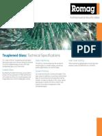 Toughened Glass Data Sheets