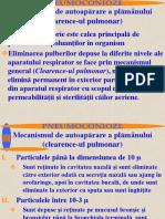 2 CursLR Clearenceul Pulmonar. Pneumoconiozele