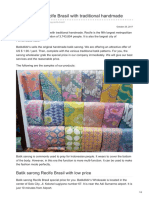 Batikdlidir.com-Batik Sarong Recife Brasil With Traditional Handmade