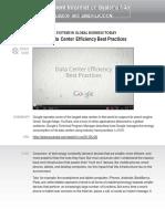 MIS Case2 GoogleDataCenter