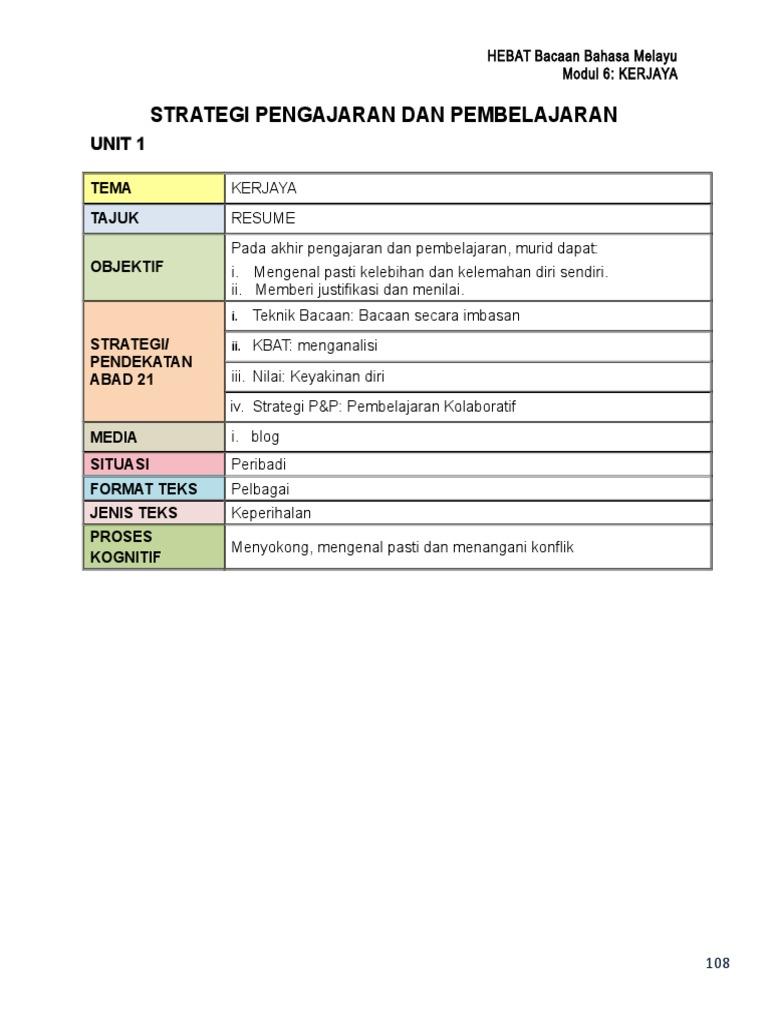 6 Modul Kerjaya Doc
