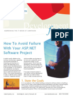 How To Avoid Failure With Your ASP.NET Software Project?