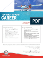 Vacancy Add- Aircraft Technician (B1) Experience