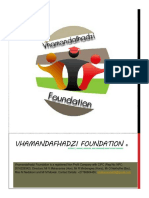 Vhamandafhadzi Foundation Strategic Document