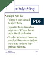 RLocus Analysis Design 1