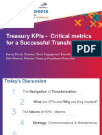Metrics That Matter for a Successful Treasury Transformation Session 22