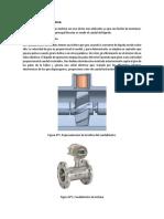 Caudalímetro de Turbina
