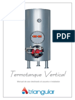 Manual Termotanque Vertical