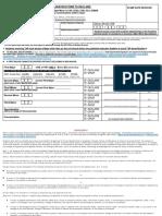 Major Minor Declaration Form 11.06.17