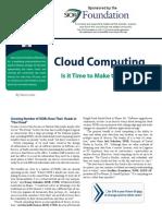 Steve Lewis- Cloud Computing