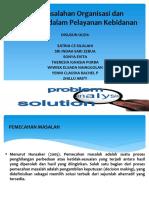 Organisasi Manajemen Pengembangan Kesehatan