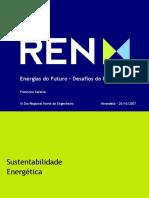 Apresentação Energias Do Futuro – Desafio Do Presente