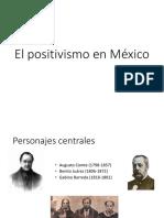 El Positivismo en México - Láminas
