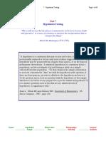 7. Hypothesis Testing2012