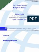 03_FIDIC Module 2 Geoffrey Smith