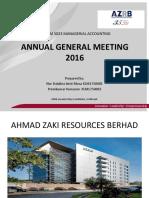 Mock AGM Ahmad Zaki Resources Berhad Nor Dalalina & Premkumar[1034]