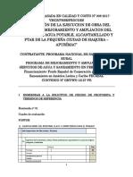 Absolución de Consultas Sbcc-008-2017 Supervision de Obras Apurimac- Haquira