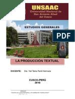 Bases Para La Producción Textual