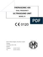 therasonic 450 ultrasound therapy