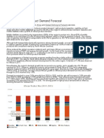 Africa- Petroleum Product Demand Forecast