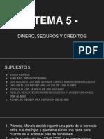 DINERO, SEGUROS Y CRÉDITOS