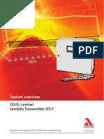 CO/O2 control Lambda Transmitter LT3-F