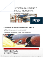 Introduccion a La Higiene y Seguridad Industrial