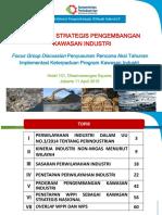 FGD Penyusunan Rencan Aksi Tahunan Implementasi Keterpaduan Program Kawasan Strategis