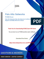 Updated PCNSE Dumps – Tips to pass PCNSE Palo Alto Networks Exam