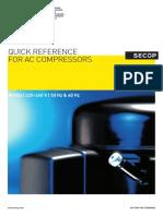 SECOP R600a Compressors