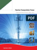 Pipeline Booster Pump Brochure