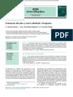 Evaluacion Del Pelo u Cuero Cabelludo - Tricrograma