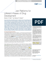 KEY REVIEW Engineered Liver Platforms for Different Phases of Drug Development