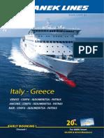 Anek Lines Italy Greece 2018 En