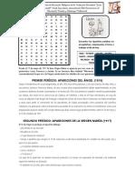 Ficha de Trabajo Virge de Fátima