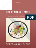 The Centered Mind What the Science of Working Memory Shows Us About the Nature of Human Thought