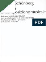 Schonberg - Elementi Di Composizione Musicale