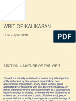 Writ of Kalikasan