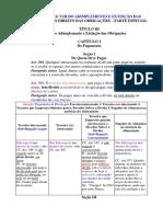 (Cc, Art. 304 a 333) t.iii Do Adimplemento e Extinção Das Obrigações – l.i Do Direito Das Obrigações – Parte Especial