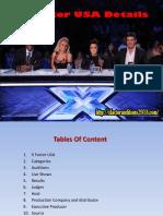 X Factor USA Details