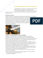 Algunos conceptos sobre el agua para la lucha Contra Incendios #Venezuela