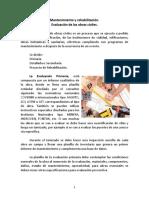 Mantenimiento, Rehabilitación y Evaluacion de Obras Civiles1
