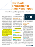 Requirements for Calculating Heat Input