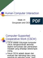 Groupware Dan CSCW