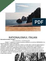 Rationalismul Italian 1920-1930